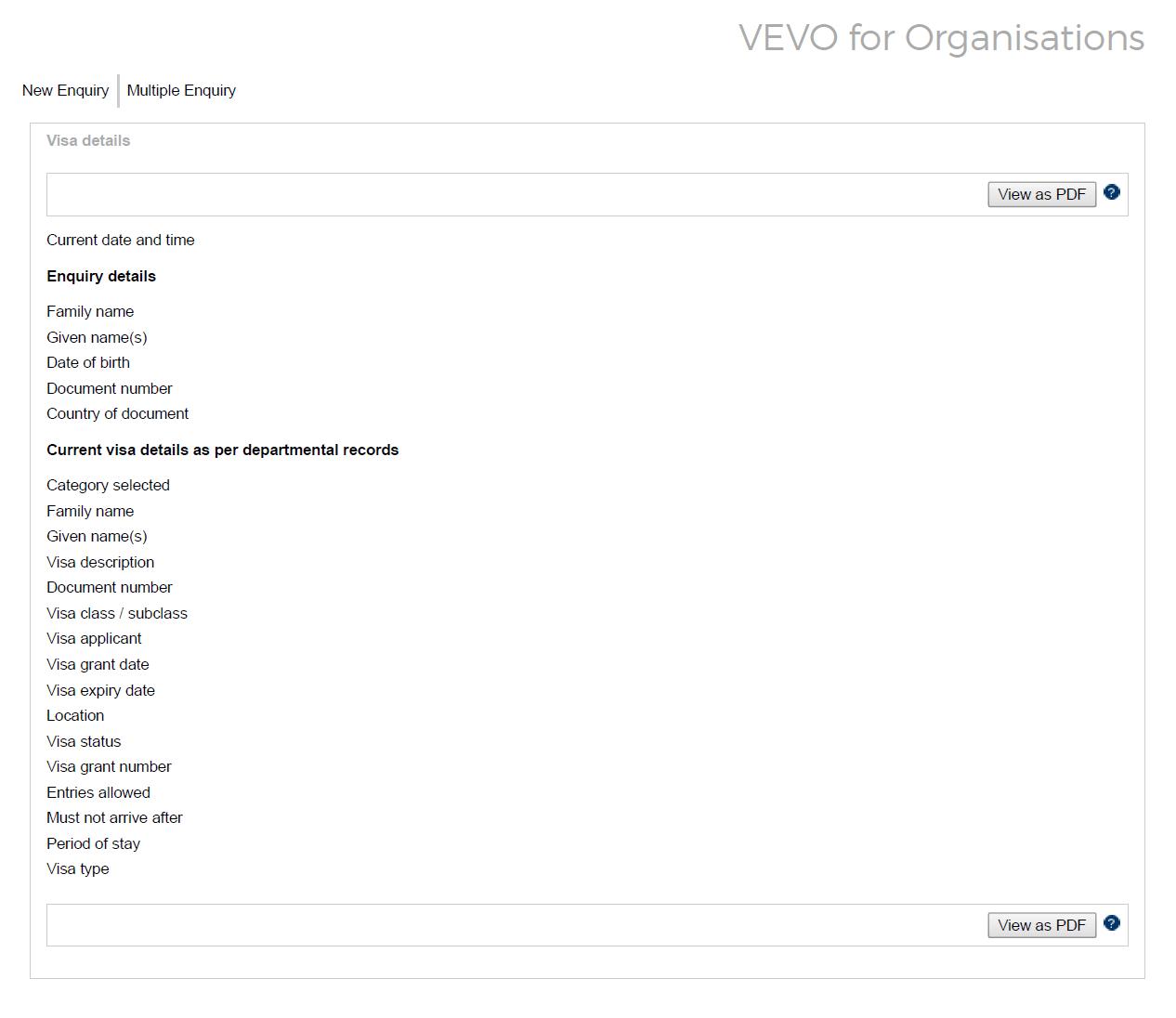 VEVO result